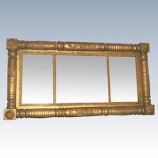 Federal Gilt Mirror Early 1800's England