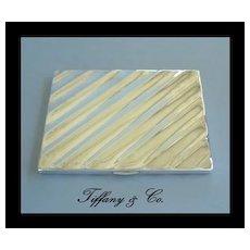 Vintage Tiffany & Co. 925 Sterling Silver Cigarette Case Wallet Billfold