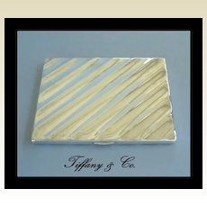Vintage Tiffany & Co. 925 Sterling Silver Cigarette Case Wallet Billfold