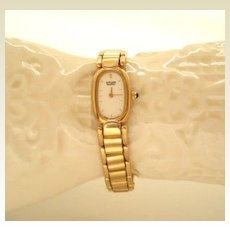 Elegant Vintage Ladies Citizen Watch Gold Bracelet Perfect Working Condition