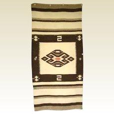 Antique 1900's Native American Navajo Rug