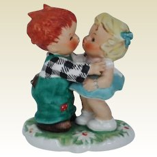 Vintage Hummel Goebel Figurine The Stolen Kiss Porcelain #Byj 18
