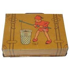 1922 George Hass Candy Suitcase Tin Teenie Weenie Characters San Francisco