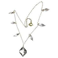 Antique Victorian Rock Crystal necklace