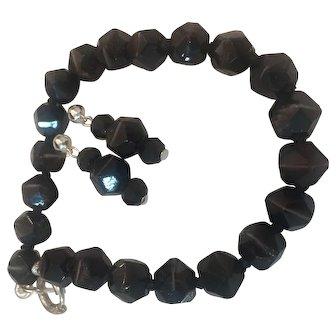Banded Agate glass beads Bracelet Earrings set