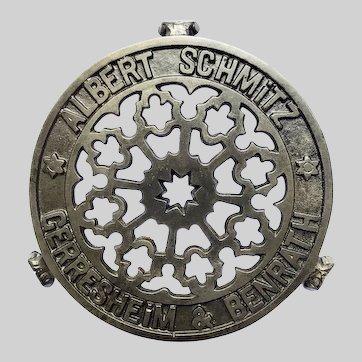 Albert Schmitz German Advertising Trivet