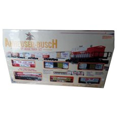 K-Line Trains Anheuser Busch O Gauge Train Set MP-15 Diesel Engine Locomotive