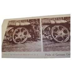 6- Rare  Assorted, Antique Stereoscope cards, War Related 1916-1945     (Lot 4)