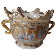 Chinese Oriental Porcelain Planter Flower Pot, Bowl Nice Design