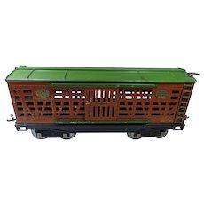 Lionel Pre-War #213 Cattle Railroad Car,  Standard Gauge