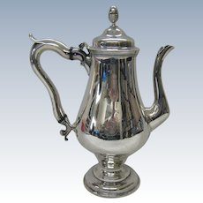 18th century American coffee pot