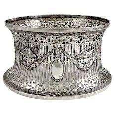 Irish Dish Ring, made by Dublin Silversmith Thomas Weir in 1907