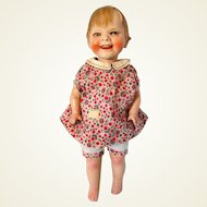 Uncommon Large 1920s Gladdie Character Doll by Helen W. Jensen