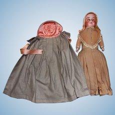 Antique Shaker Dressed German Bisque Lily Doll * All Original Pristine Museum Quality
