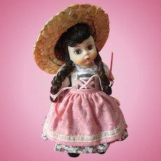 Madame Alexander Sound of Music Brigetta Vintage Straight Leg Made in USA Hard Plastic Doll