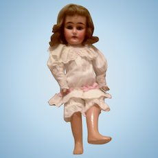 Rare Sonneberg 340 Bahr Proschild Bisque Head Doll for the French Trade