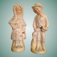 Antique Piano Baby Pair Doll Related