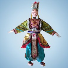 Pre-WWII Huge Chinese Opera Doll