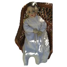 Mystery Old Alabama Baby Type Cloth Doll