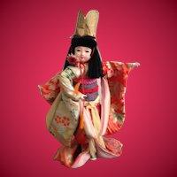 Large Ichimatsu Ningyo Japanese Gofun Doll