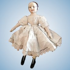 Gorgeous Ghostly Annabelle Modern Artist Doll Inspired by Izannah Walker