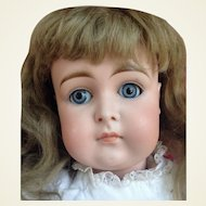 Large Antique Kestner Swivel Head Bisque  Closed Mouth Doll TLC