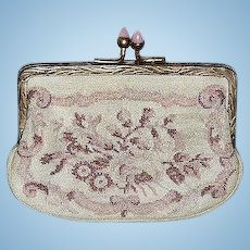 Antique Miniature Purse suitable for French Fashion Doll