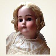Life Size Antique German Kammer Reinhardt Simon Halbig Bisque Head Brown Eyes