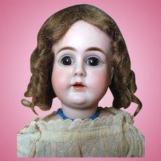 Antique Kestner Alphabet Series  Swivel Head Bisque on Kid Doll