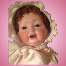 Antique Hertel &Schwab 152 Bisque Head  Character Baby