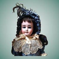 Antique French Market 44 - 30 Kuhnlenz  Bisque Head Doll