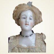 Antique Aristocratic Dressel and Kister Shoulder-head Doll