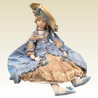 Huge 1920s Lenci Boudoir Iconic Doll