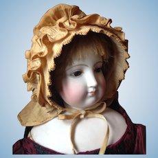 Antique Early French Fashion Doll Bonnet * Precious Provençal