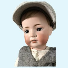 Huge BSW Tommy Tucker Character Doll on Original Slant Hip Toddler Body