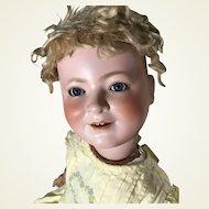 Largest Schoneau Hoffmeister Princess Elizabeth bisque Head Portrait Doll