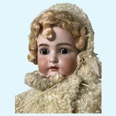 Life Size Kammer and Rheinhardt K*R Doll with Fabulous Brown Glass Sleep Eyes