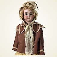 Antique GrosGrain Jacket and Matching Hat for Life Sized Doll or Child