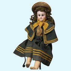 Uncommon Sonnenberg 300 Bahr Proschild Bisque Head Doll for the French Trade
