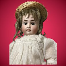 Large Kestner Round Faced Closed Mouth Doll on Original Desirable 8 Ball Body