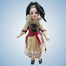 Rare Simon Halbig 1269 Doll Original Folkloric Costume