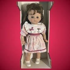 "Vintage 1980s Zapf 20"" Western Germany Marill Doll in Original Box"