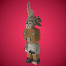 Large Hopi Kachina Katsina - Old and Classic