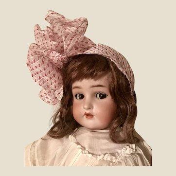 Flirty Character Kammer Rheinhardt K star R Large Antique Bisque Head Doll