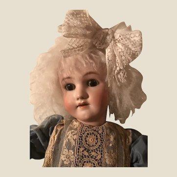Antique Simon Halbig Handwerck Large Bisque Head Doll
