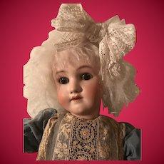 Holiday Sale Antique Handwerck Simon Halbig Large Bisque Head Doll