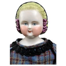 Vintage Parian Portrait Doll Mary Lincoln by LaMotte