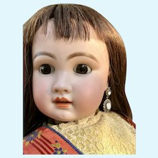 Rare Antique Large 758 Simon Halbig Tete Jumeau Doll