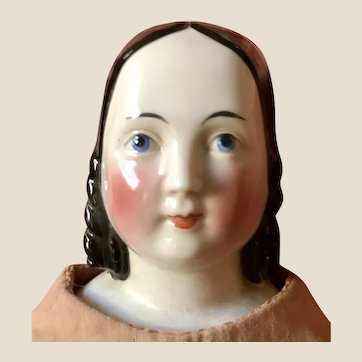 Antique Large Sophia Smith Rare China Head Doll