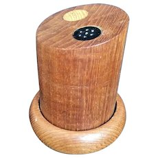 Mid Century Modern Teak Salt & Pepper Shakers Vintage Wood Danish MCM Set